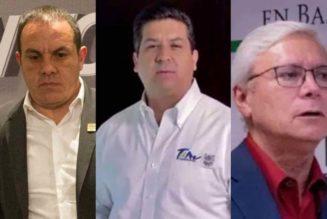 UIF investiga a Cuauhtémoc Blanco, Bonilla y Cabeza de Vaca