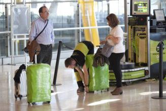 ¡No emplayes tus maletas!