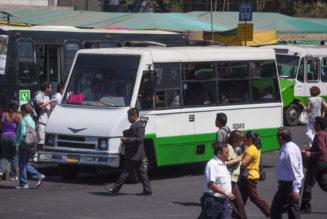 Las 9 zonas con más asaltos en transporte público