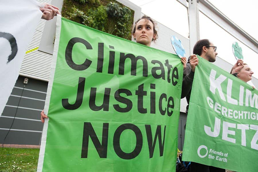 Les vale madre la justicia climática
