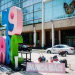 monumentos protesta homicidios mexico