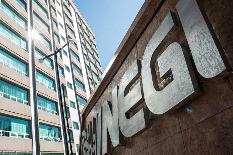 Confirma INEGI, economía se contrajo 0.1% en 2019