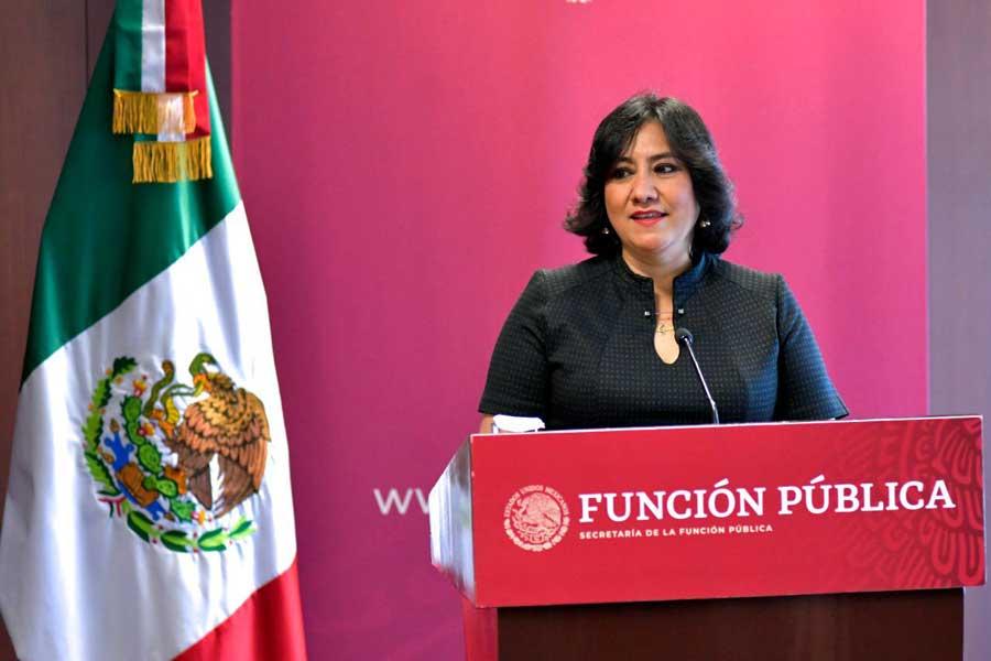 Irma Eréndira Sandoval, la secretaria inédita