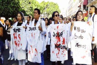 marcha estudiantes puebla asesinados