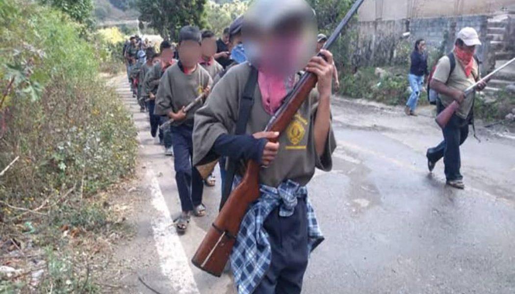niños-armados