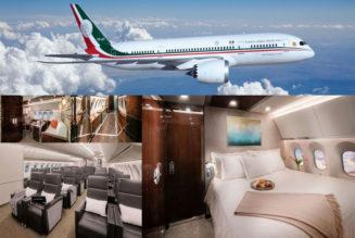 Los empresarios, al show del avión