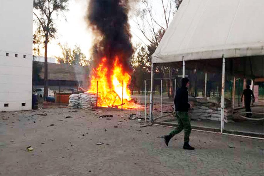 Explota coche bomba en Celaya