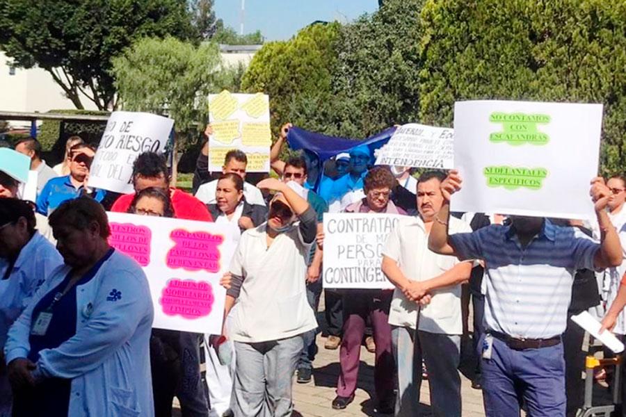 Denuncian trabajadores del INER que no hay protocolos para evitar contagios del Covid-19