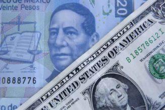 Desplome del peso mexicano