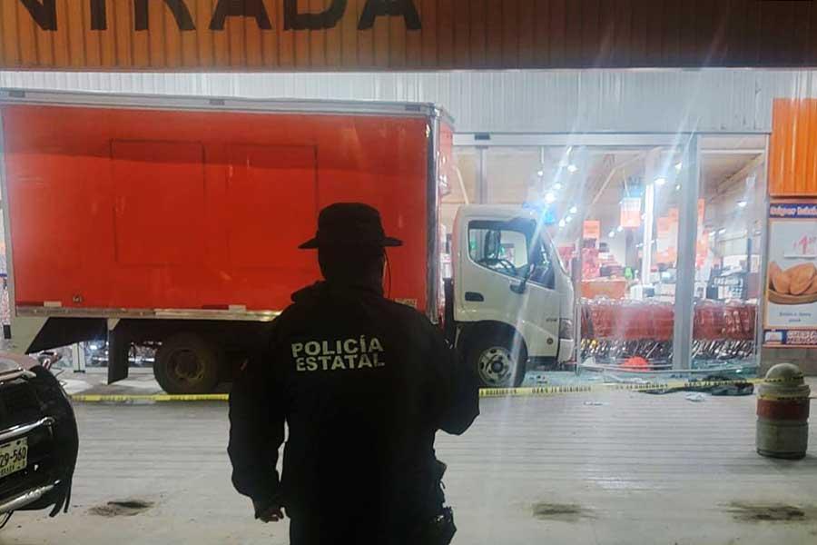 Saquean supermercados en Oaxaca, Puebla y Estado de México