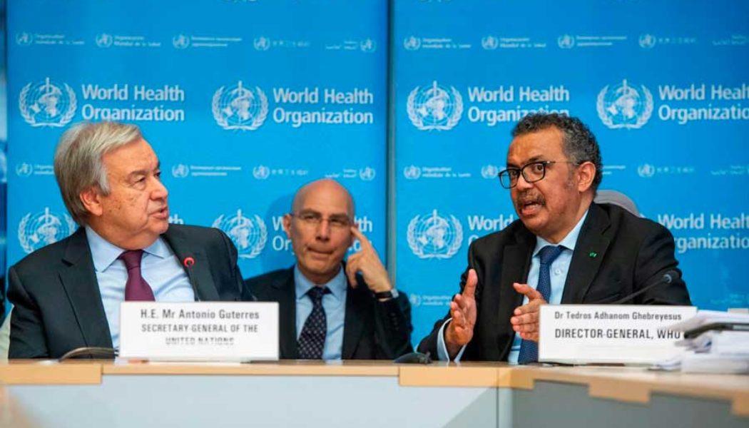 OMS llama a hacer más por la pandemia