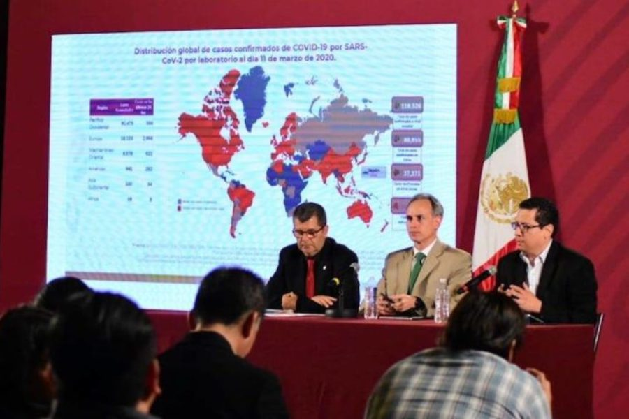 Así va el coronavirus en México