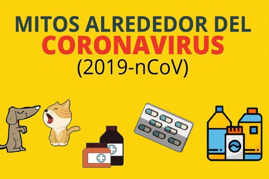 mitos coronavirus en internet