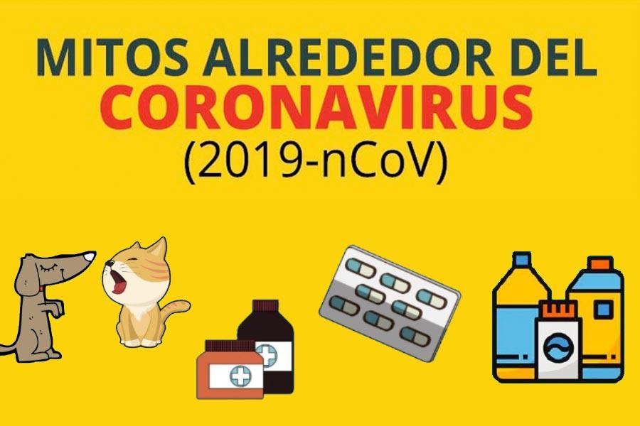 Mitos del coronavirus que hay que descartar