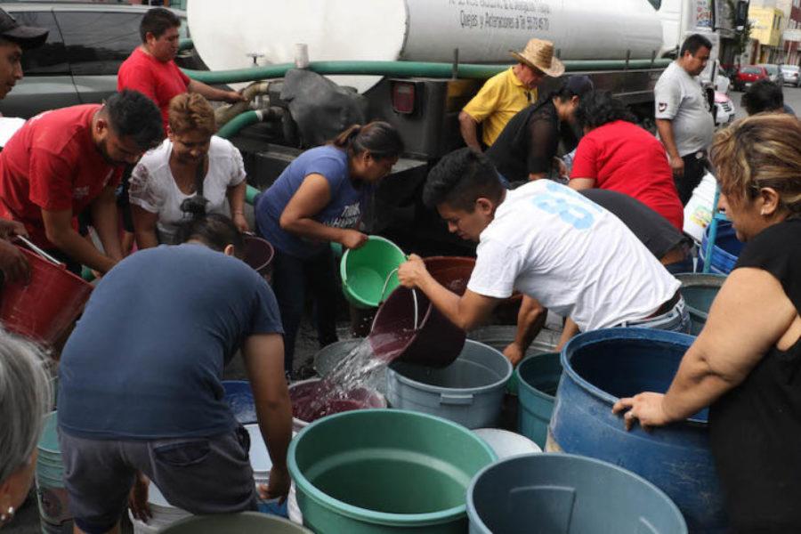 Alcaldías sufren escasez de agua en medio de contingencia por Covid-19