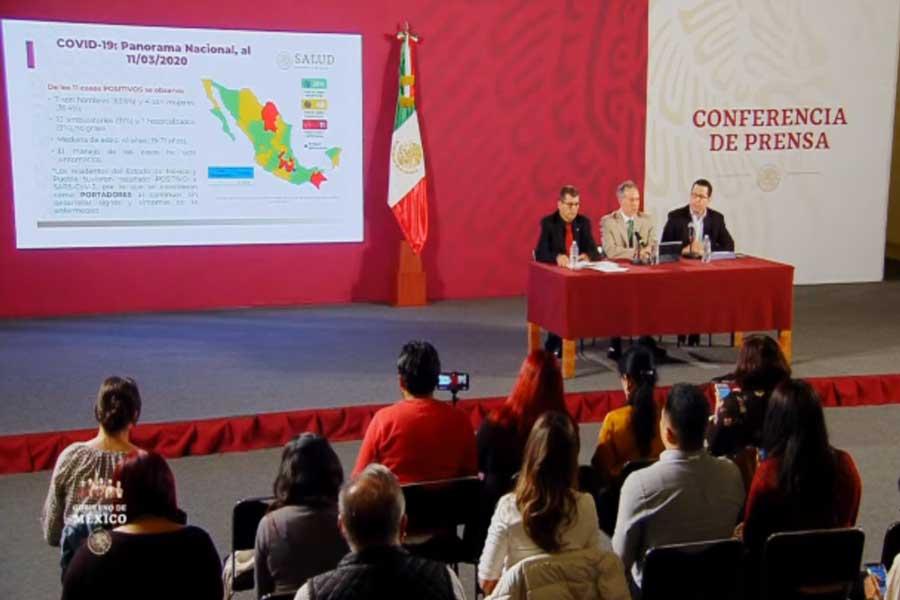 El mapa hackeable del coronavirus en México