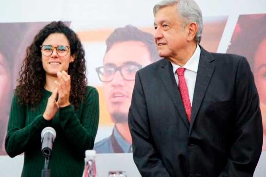 El silencio de Luisa María Alcalde sobre el aguinaldo