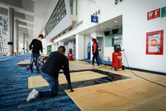 Instalación hospitalaria Citibanamex