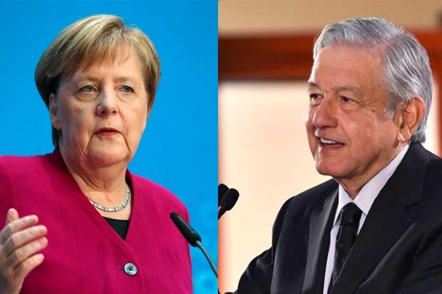 Merkel y AMLO