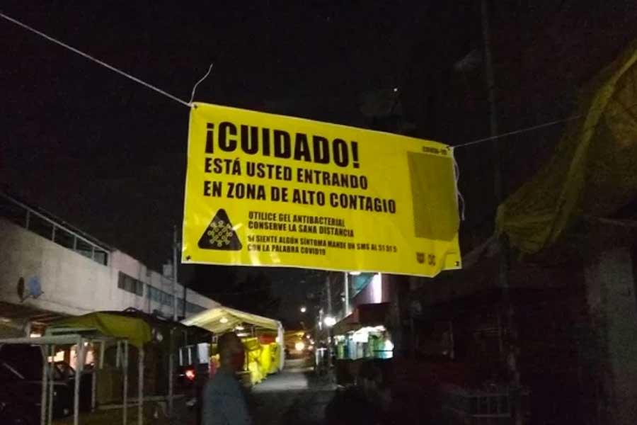 Estas son las 89 zonas de riesgo en la Ciudad de México