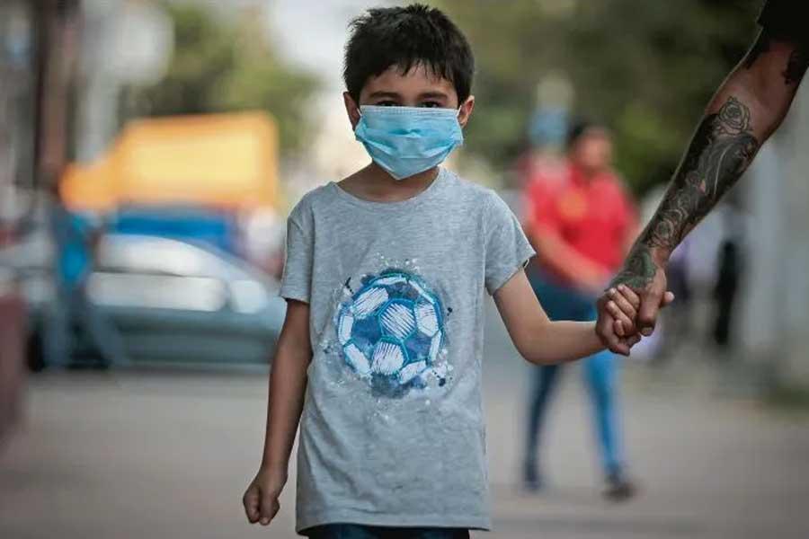 Los niños también sufren la pandemia y el confinamiento