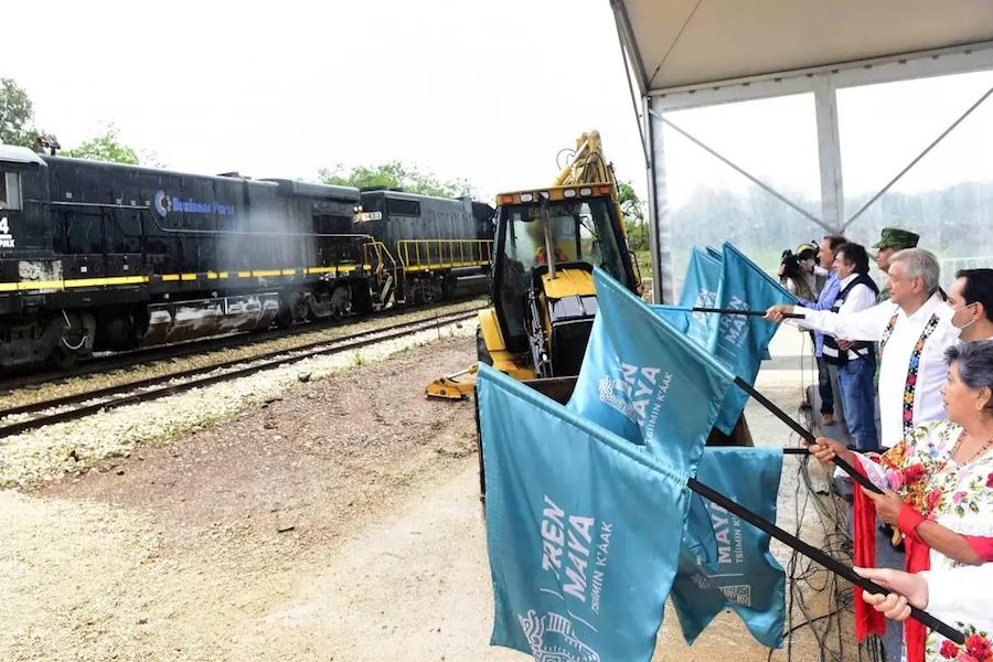 Frenan obras del Tren Maya con suspensión definitiva