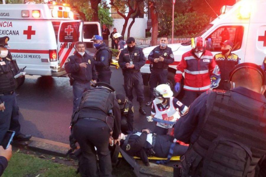 Sufre atentado Secretario de Seguridad de Ciudad de México