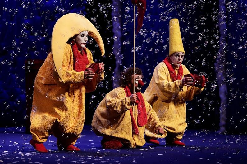 Slava's Snowshow, uno de los mejores espectáculos teatrales