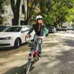 Maya en bici