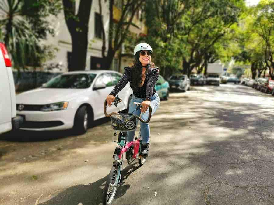 La bici el medio de transporte ideal para andar en todos lados