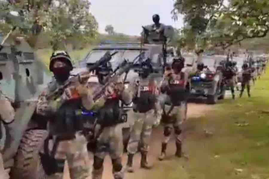 El ejército de El Mencho