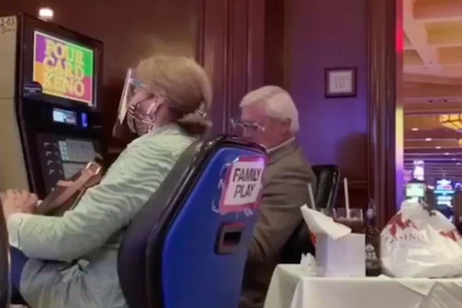 En plena pandemia, Jaime Bonilla se fue a apostar a un casino en EU