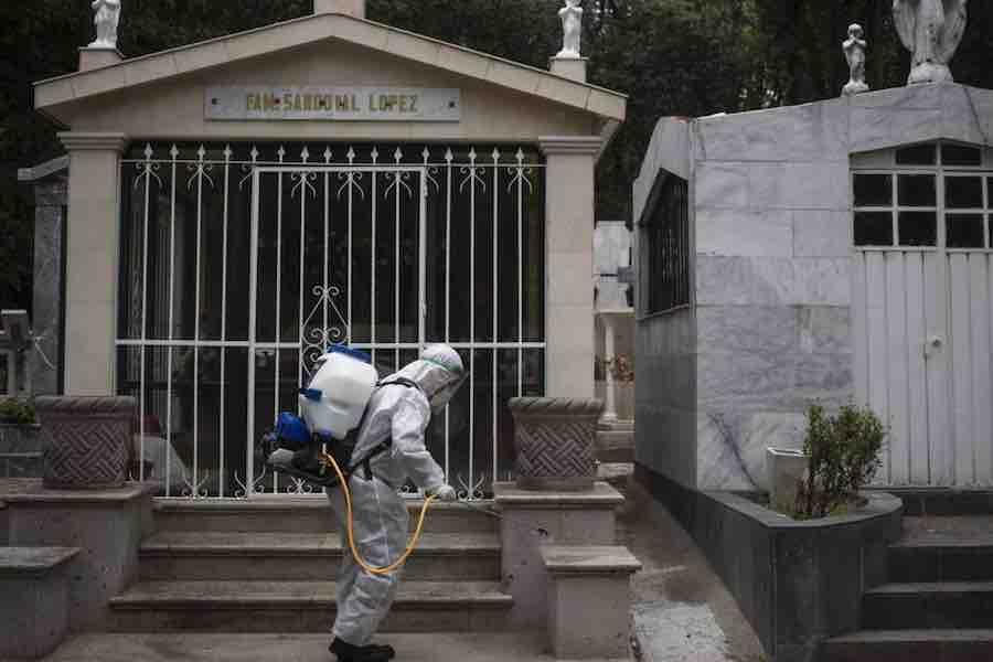 Confirman exceso de mortalidad por Covid-19 en Ciudad de México