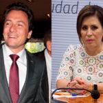 Emilio Lozoya y Rosario Robles