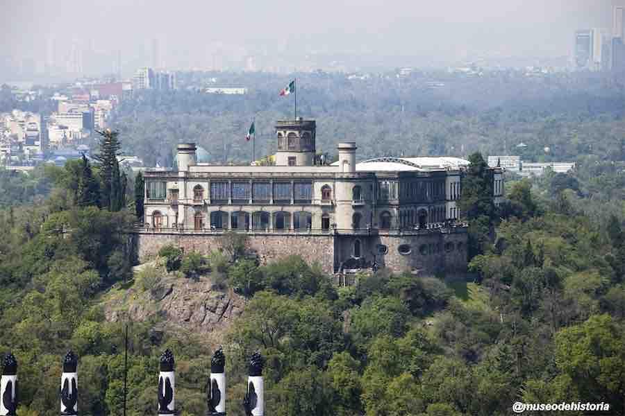 Recorre el Castillo de Chapultepec sin salir de casa