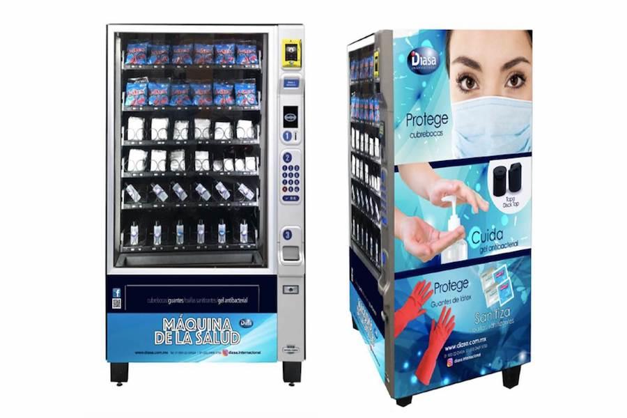Ya llegaron, las máquinas expendedoras de cubrebocas ya están en la Cdmx