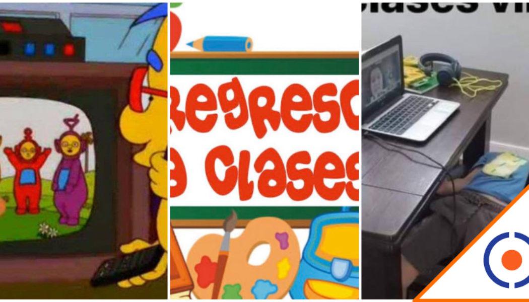 #Viral: Checa los mejores Memes sobre el regreso a clases a distancia