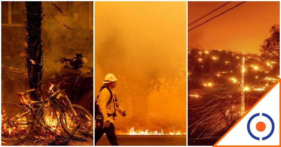 #Viral: Impactantes imágenes sobre los incendios en California