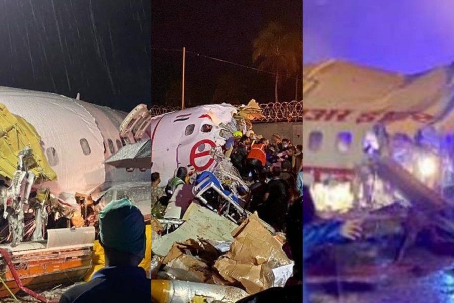Se estrella avión en India con 191 personas