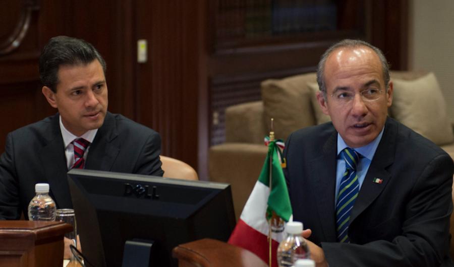 Peña, primer expresidente a juicio; Calderón, ¿segundo?