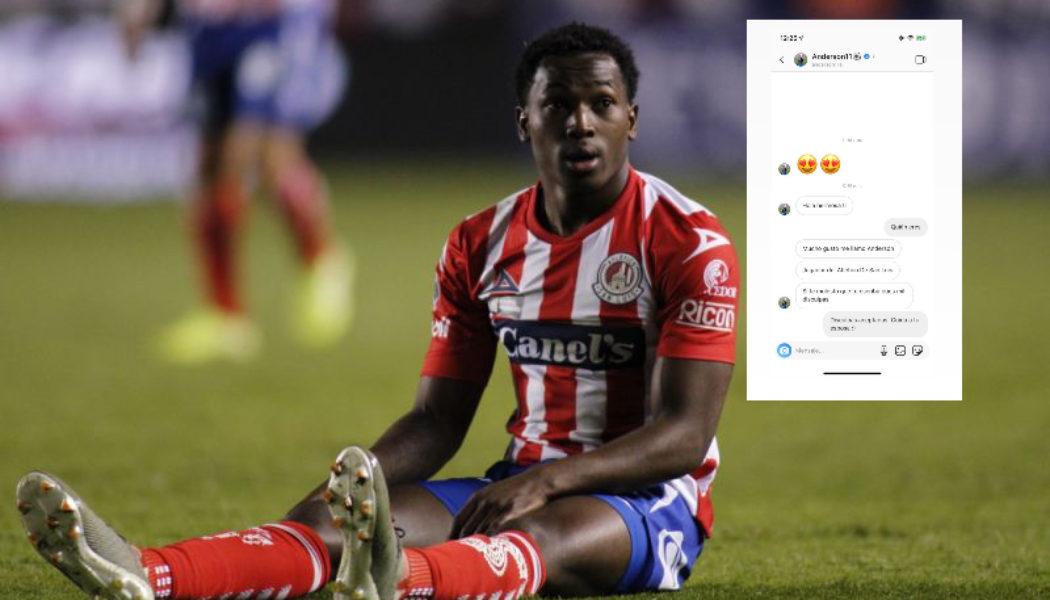 Exhiben a jugador de San Luis por supuesto acoso en redes