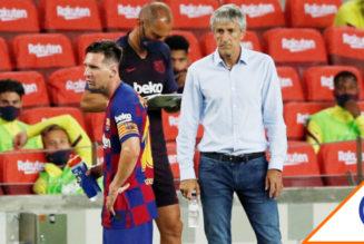 #Viral: Barcelona hizo oficial el despido de Quique Setién, vacante el banquillo culé