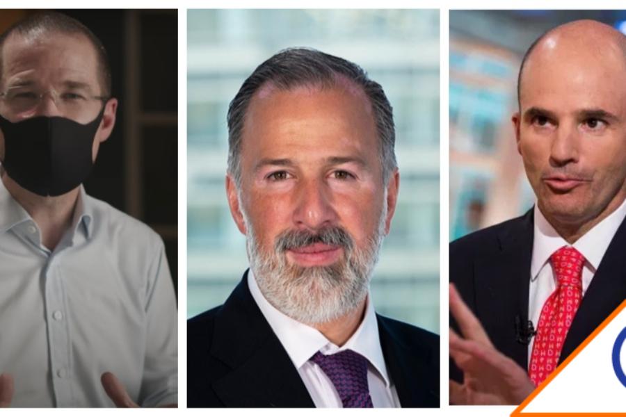 #Corrupción: Anaya, Meade y González responden a señalamientos de Lozoya