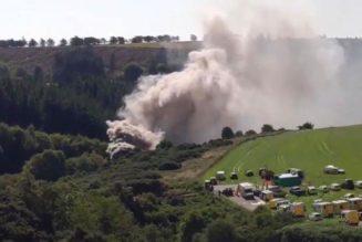 Se descarrila tren de pasajeros en Escocia