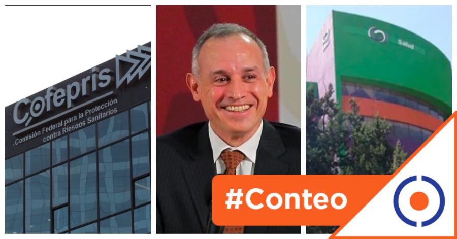 #Viral: 13 nuevas unidades administrativas que dirigirá López-Gatell