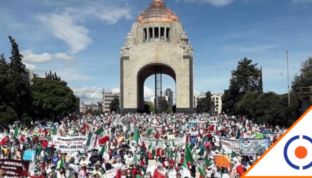 #FRENA: Aumentan en México protestas para exigir renuncia del Presidente