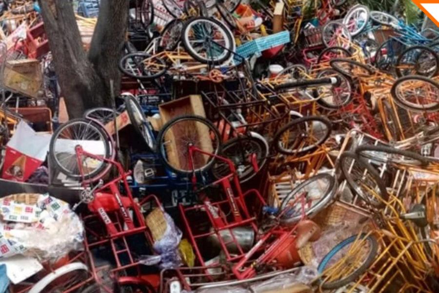 Triciclos sello