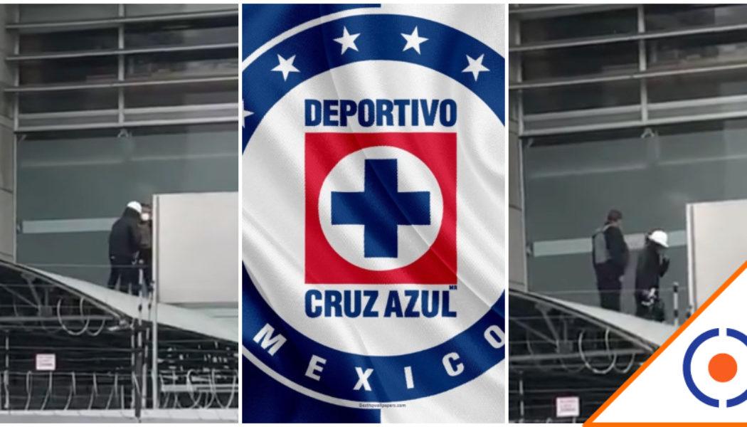 #Viral: Señalan en redes a supuesto francotirador en asamblea de Cruz Azul