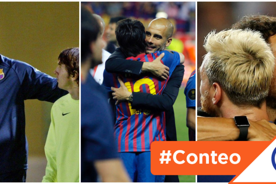 #Viral: Los 8 últimos técnicos del Barcelona en la era Messi