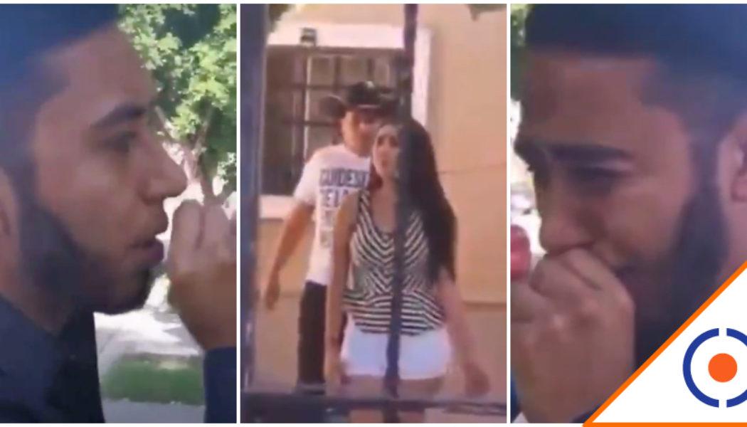 #Viral: Joven lleva serenata; y rompe en llanto al ver que tiene novio